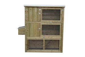Maatwerk kippen- & konijnenflat