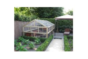 Maatwerk kippen- & konijnenren huismodel