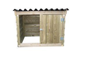 Maatwerk kippenbroedkooi met ren S