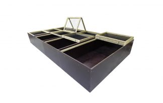 Maatwerk kuikenopfokbak betonplex serie