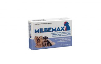 Milbemax Ontwormingstablet tegen parasitaire wormen.