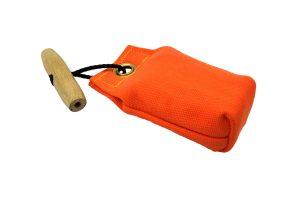 Mini dummy met werptouw oranje