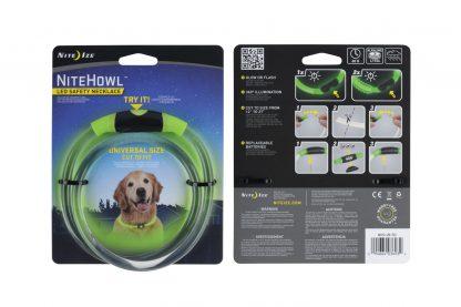 Nite Ize NiteHowl LED halsband groen