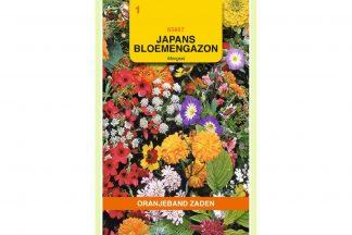 Oranjeband Zaden japans bloemengazon mengsel