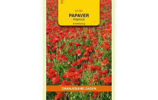 Oranjeband Zaden papaver rhoeas Enkelbloemig rood
