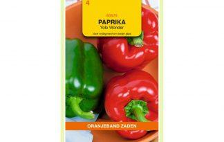 Oranjeband Zaden paprika Yolo Wonder
