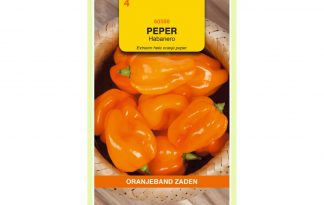 Oranjeband Zaden pepers Habanero