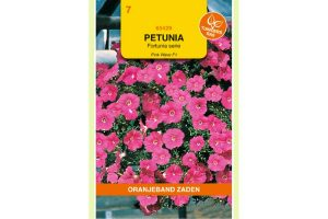 Oranjeband Zaden petunia pendula Pink Wave F1