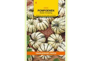 Oranjeband Zaden pompoenen Sweet Dumpling