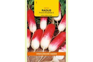Oranjeband Zaden radijs French Breakfast 3