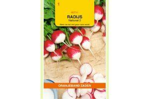 Oranjeband Zaden radijs National 2