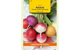 Oranjeband Zaden radijs Ronde soorten gemengd