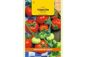 Oranjeband Zaden tomaten Tiny Tim