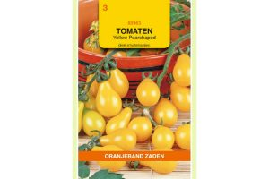 Oranjeband Zaden tomaten Yellow Pearshaped
