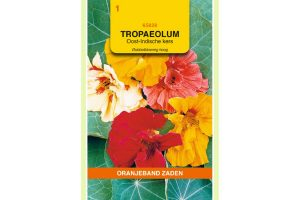Oranjeband Zaden tropaeolum majus Dubbelbloemig gemengd