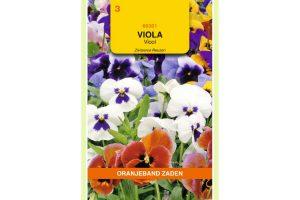 Oranjeband Zaden viola tricolor Zwitserse Reuzen gemengd