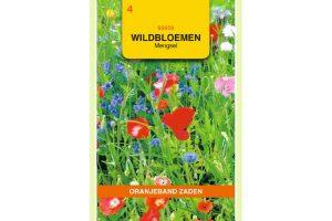 Oranjeband Zaden wildbloemen mengsel éénjarig