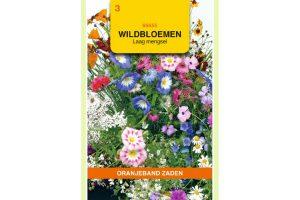 Oranjeband Zaden wildbloemen mengsel laag