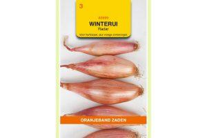 Oranjeband Zaden winterui Radar