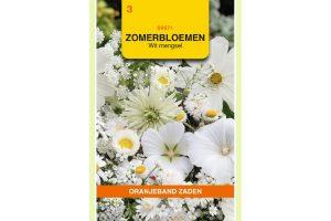Oranjeband Zaden zomerbloemen Wit mengsel