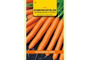 Oranjeband Zaden zomerwortelen Amsterdamse Bak 2, Douceur