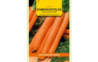 Oranjeband Zaden zomerwortelen Amsterdamse Bak