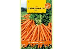 Oranjeband Zaden zomerwortelen Evora F1