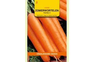 Oranjeband Zaden zomerwortelen Nantes 2