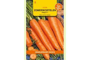Oranjeband Zaden zomerwortelen Nerja F1