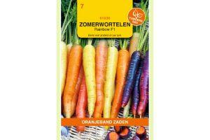 Oranjeband Zaden zomerwortelen Rainbow F1