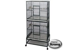 Original Strong Birdcage Kyra Silvertone Grey