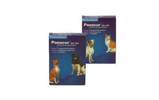 Panacur Ontwormingsmiddel in tabletvorm, voor honden en katten.