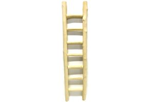 Ladder koffiehout XL