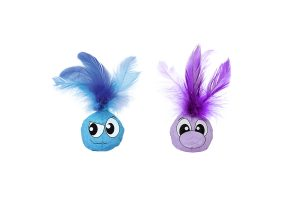 Petstages Tyvek Feather Balls