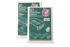 Plastic kattenbakzakken