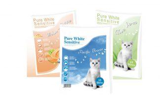 Pure White Sensitive kattenbakkorrel