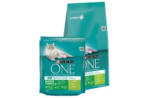 Purina One Indoor kalkoen en granen