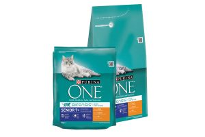 Purina One Senior kip en granen
