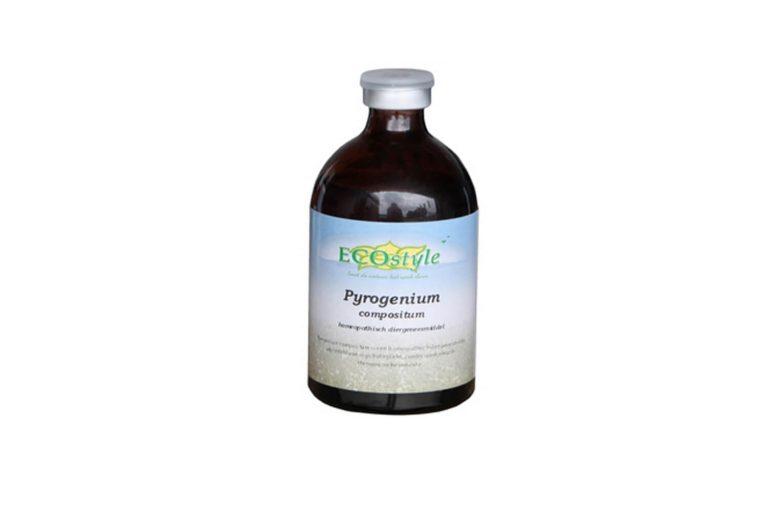 Pyrogenium Compositum werkt bij het herstellen van de algehele gezondheidstoestand.