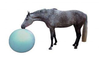 QHP paardenvoetbal 100 cm - blauw