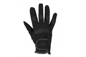 QHP rijhandschoenen Multi Winter Zwart