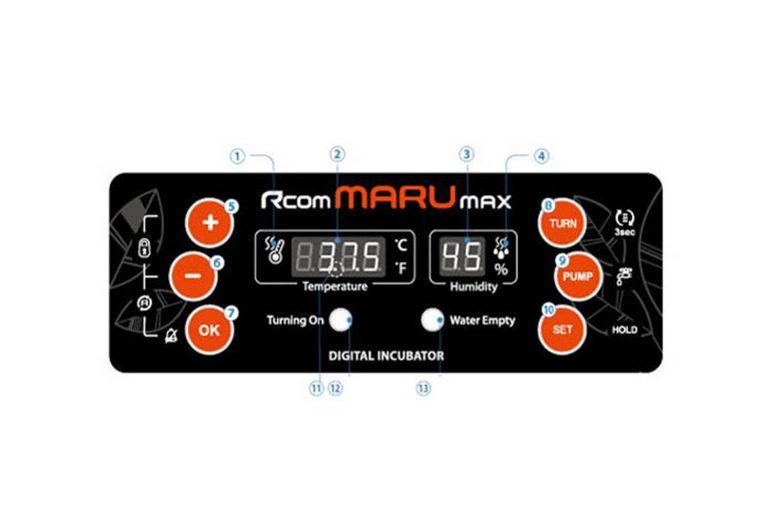 R-com Maru 190 broedmachine