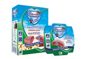 Renske Senior Kalkoen Graanvrij complete vers vlees voeding