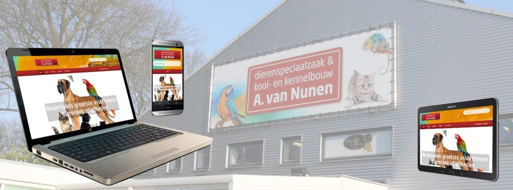 Nieuwe responsive webshop www.dierencompleet.nl