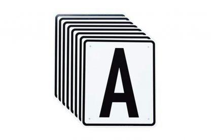 Rijbak letters dressuur