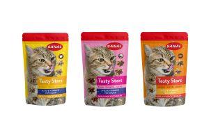 Sanal Tasty Stars kattensnack