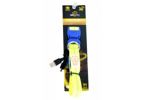 Duvo Seecurity halsband nylon led licht USB, S, M, L