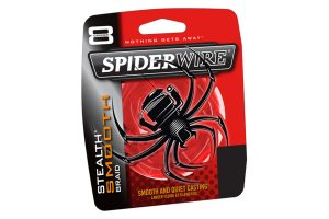 Spiderwire Stealth Smooth Braid Red