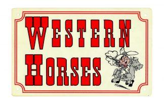 Stalbord Western Horses