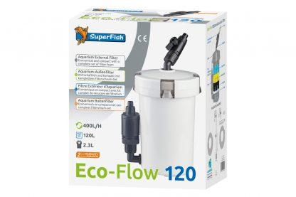 Superfish Eco-Flow 120 aquarium buitenfilter